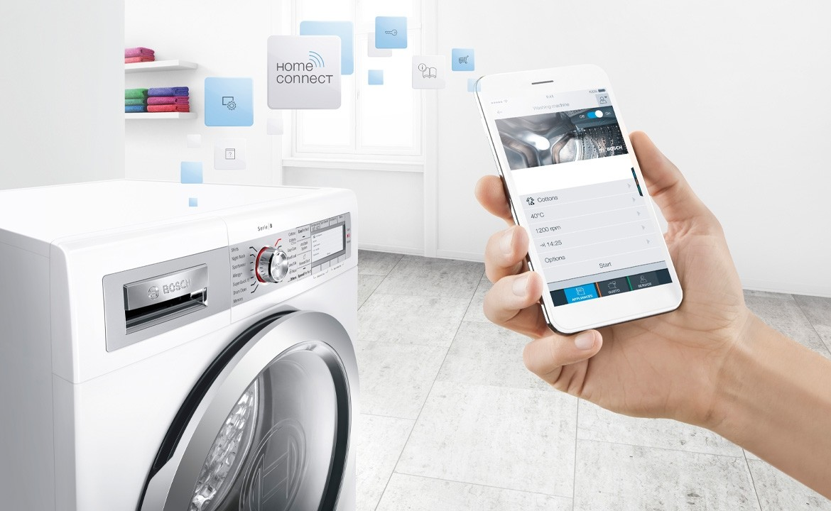 Home Connect: Bosch en Siemens apparaten met WIFI